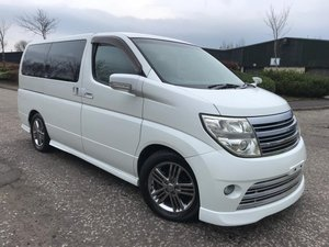 2007 FRESH IMPORT NISSAN ELGRAND RIDER 4WD LEATHER EDITION For Sale