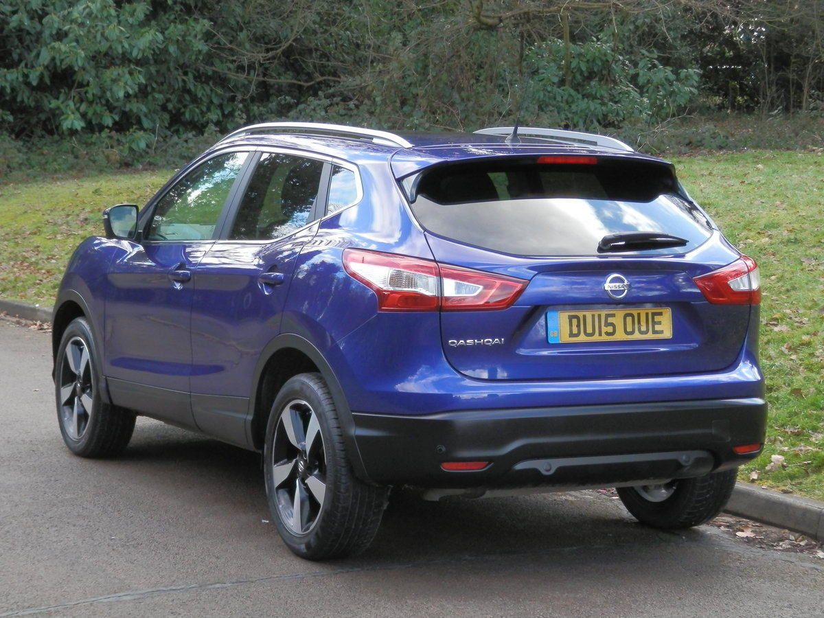 Nissan Qashqai N-TEC + Dig-T.. Top Spec Pan Roof + Low Miles SOLD (picture 5 of 6)