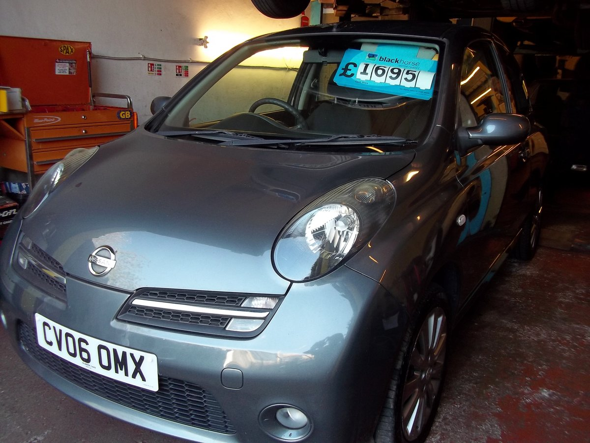 2006 Nissan Micra 1.2 Sport For Sale (picture 1 of 5)