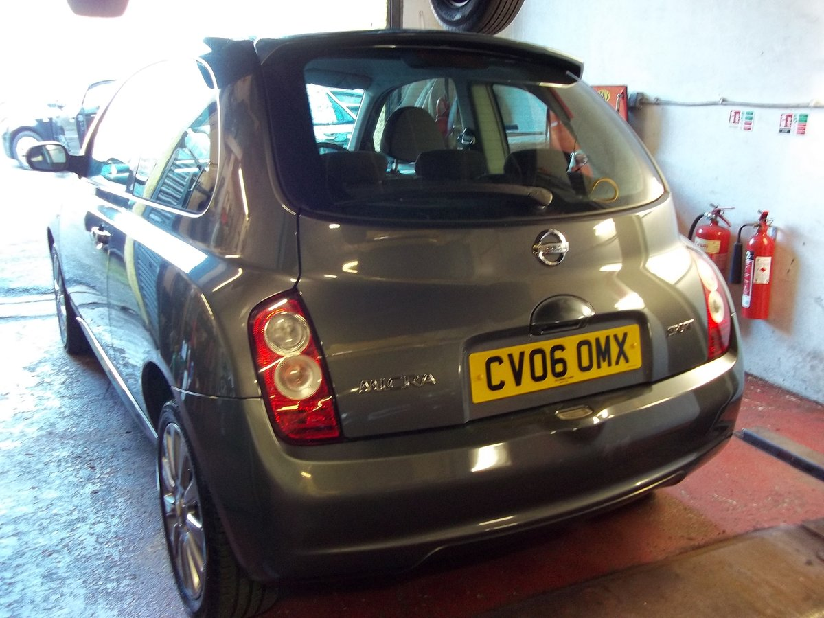2006 Nissan Micra 1.2 Sport For Sale (picture 2 of 5)