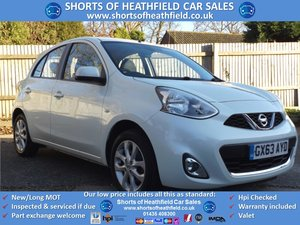 2013 Nissan Micra 1.2 DIG-S Connect Acenta - Zero Tax - Low Miles For Sale