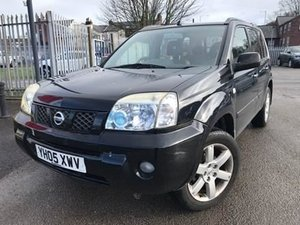 2005 NISSAN X TRAIL 2.2 DCI SPORT 6 SPEED FNSH Low Miles