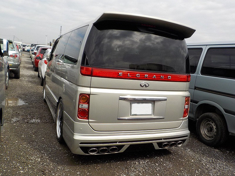 2009 NISSAN ELGRAND 3.5 XL CUSTOM ELGRAND * TOP OF THE RANGE *  For Sale (picture 2 of 6)
