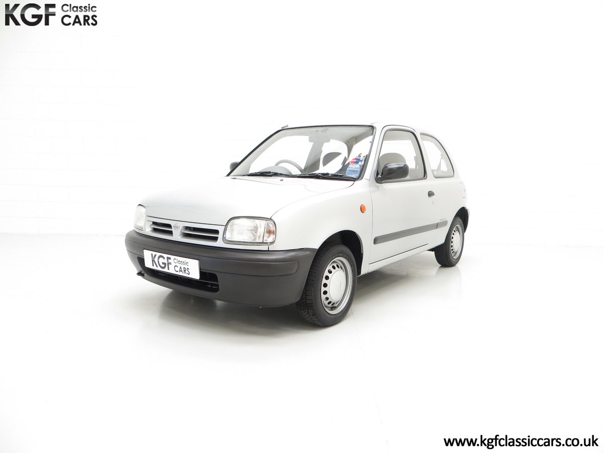 1995 Nissan Micra 1.0L, 14,345 Miles and 19 Nissan Dealer Stamps For Sale (picture 2 of 6)
