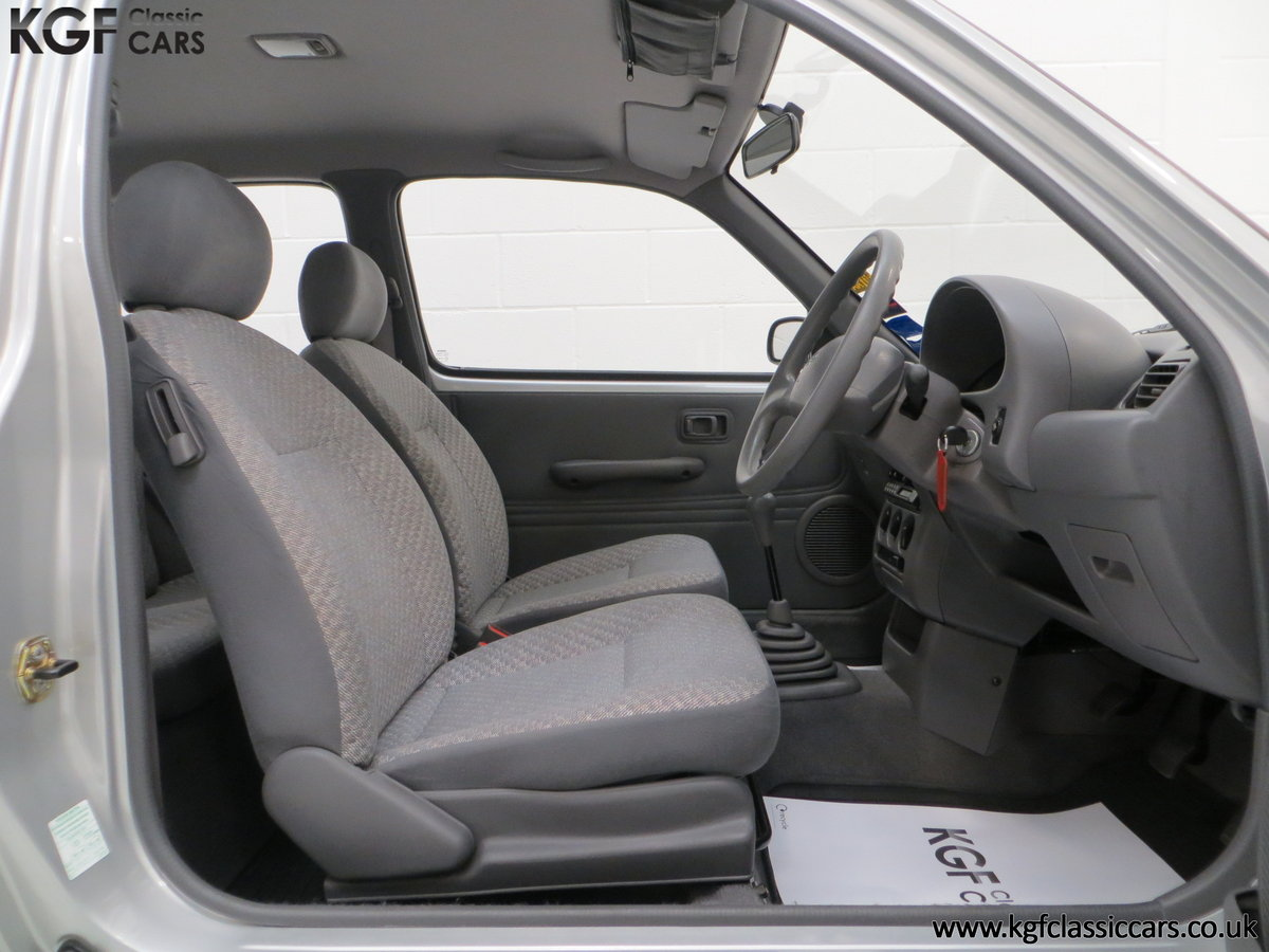 1995 Nissan Micra 1.0L, 14,345 Miles and 19 Nissan Dealer Stamps For Sale (picture 6 of 6)