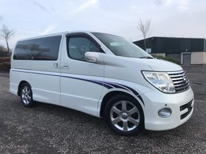 2005 FRESH IMPORT NISSAN ELGRAND HIGHWAY STAR 4 WD AUTO 3.5  For Sale