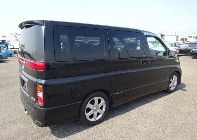 NISSAN ELGRAND 2007 250 HIGHWAY STAR BLACK LEATHER EDITION  For Sale (picture 2 of 6)