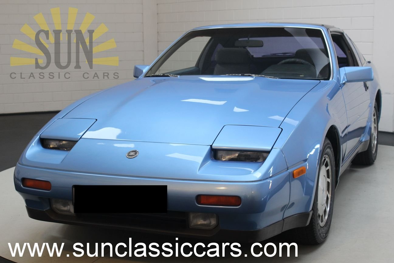 Nissan 300ZX V6 Targa 1987, Bright Blue metallic. For Sale (picture 1 of 6)