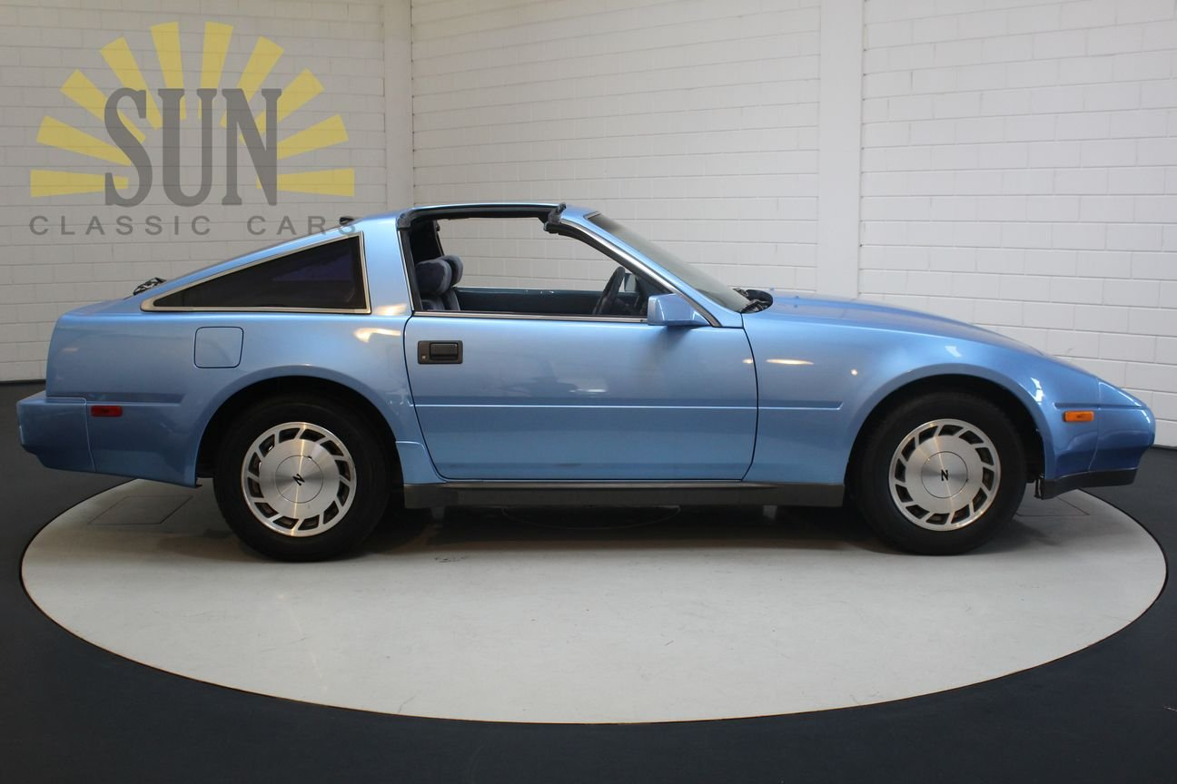 Nissan 300ZX V6 Targa 1987, Bright Blue metallic. For Sale (picture 2 of 6)