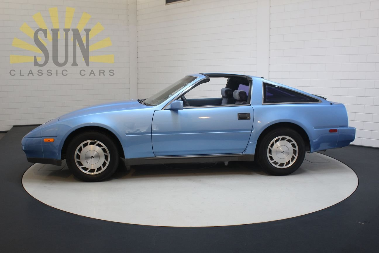 Nissan 300ZX V6 Targa 1987, Bright Blue metallic. For Sale (picture 3 of 6)