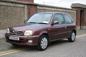 2002 MICRA - AUTO - NEW NCT - SUPER LOW MILES 22,250