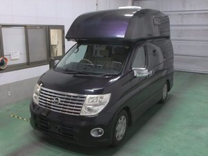 2006 NISSAN ELGRAND 2.5 4X4 DAY VAN RARE HIGH TOP CAMPER *