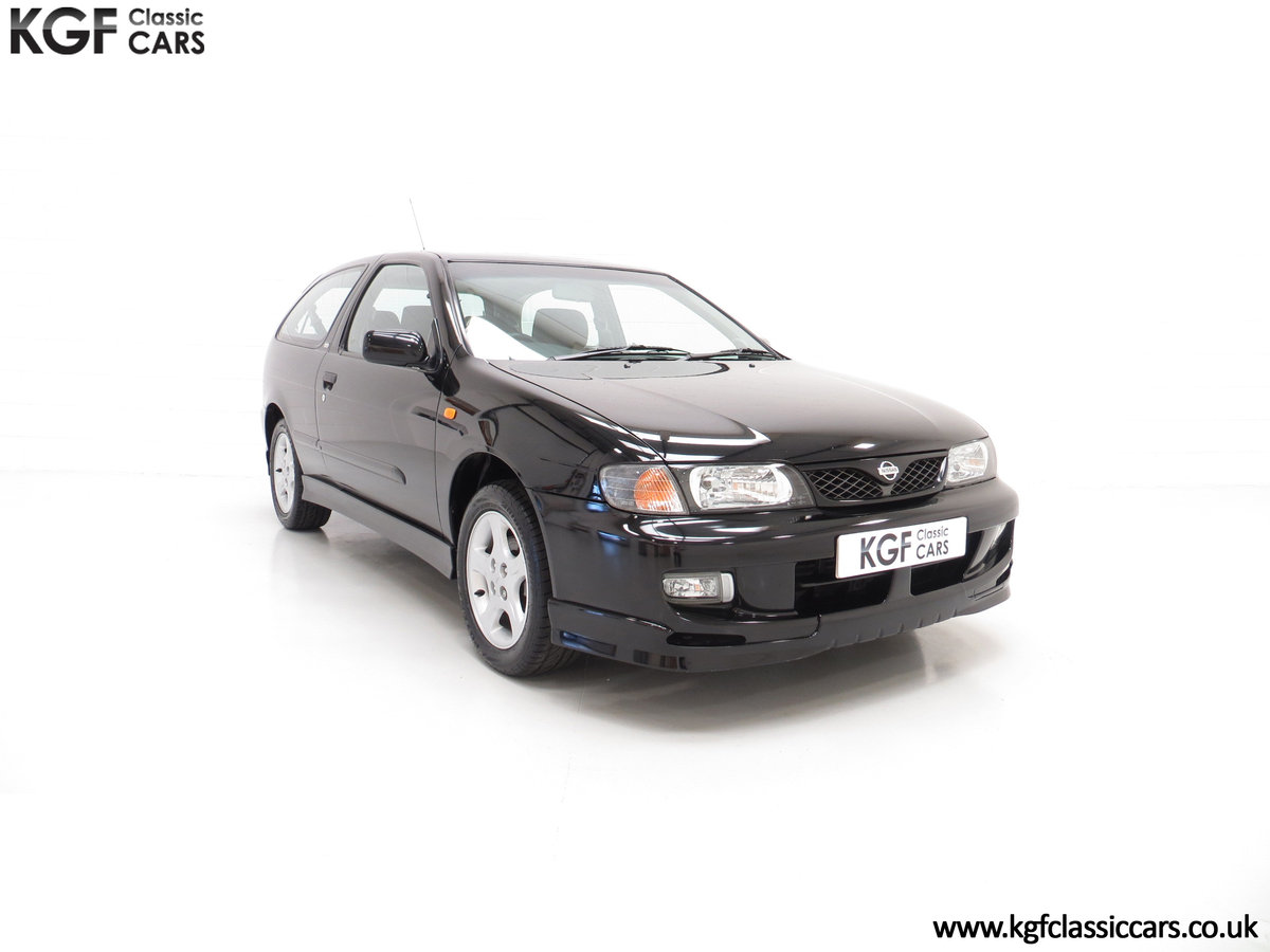 1999 A Rare Hot Hatch Nissan Almera GTi with 24,877 Miles SOLD (picture 1 of 6)