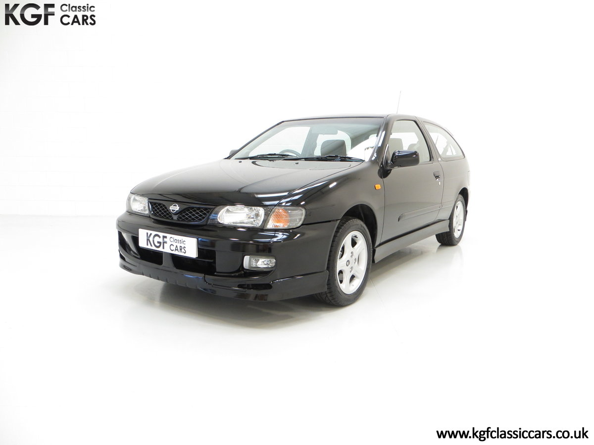 1999 A Rare Hot Hatch Nissan Almera GTi with 24,877 Miles SOLD (picture 2 of 6)