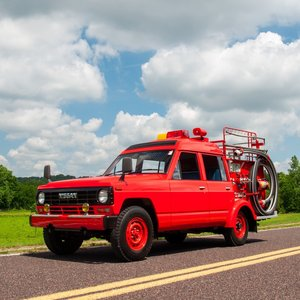 1986 Nissan Safari Fire Truck 4×4 = Protect Your Home $11.5k For Sale