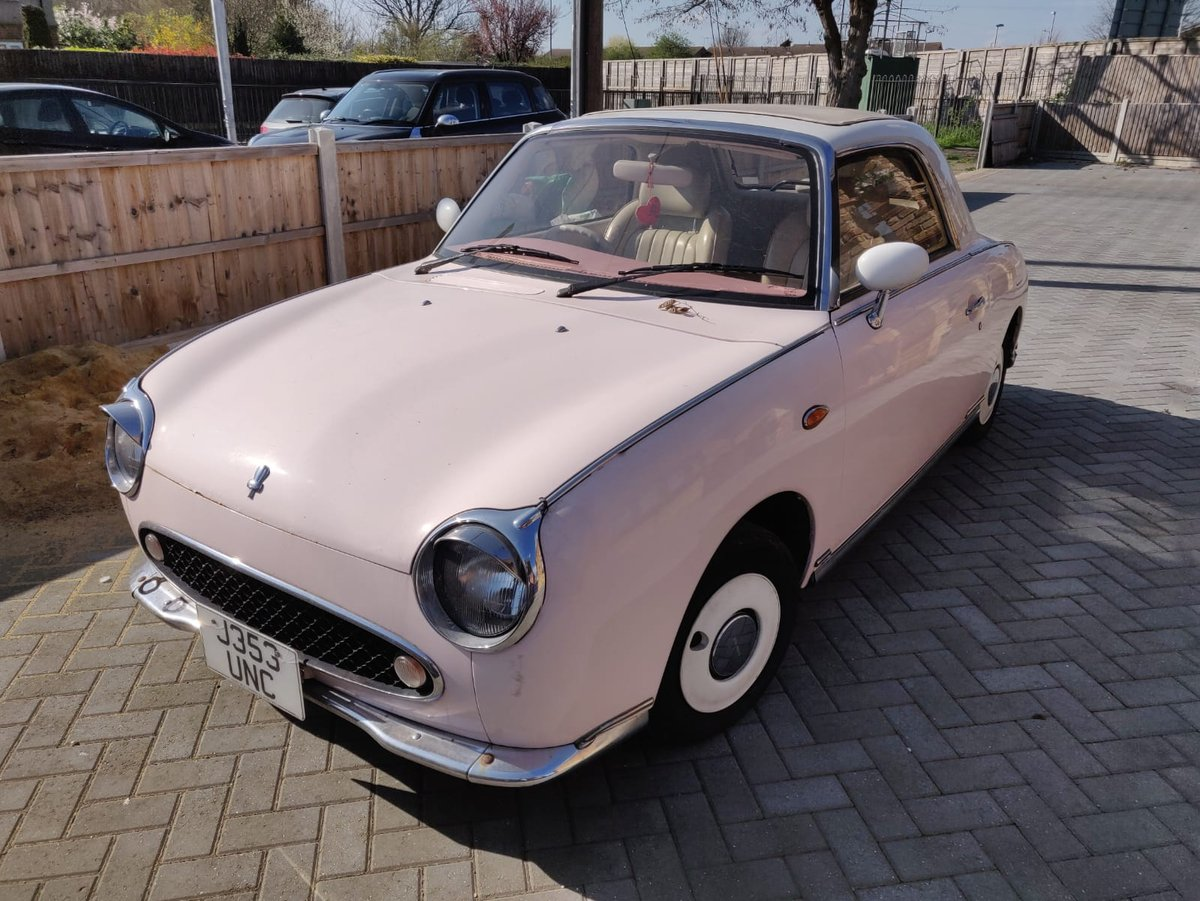 1992 1991 Pink Nissan Figaro For Sale (picture 1 of 5)