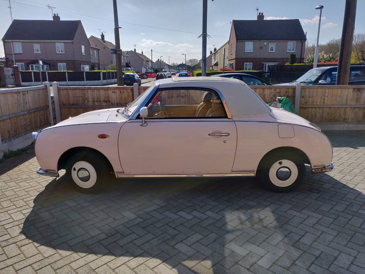 1992 1991 Pink Nissan Figaro For Sale (picture 2 of 5)