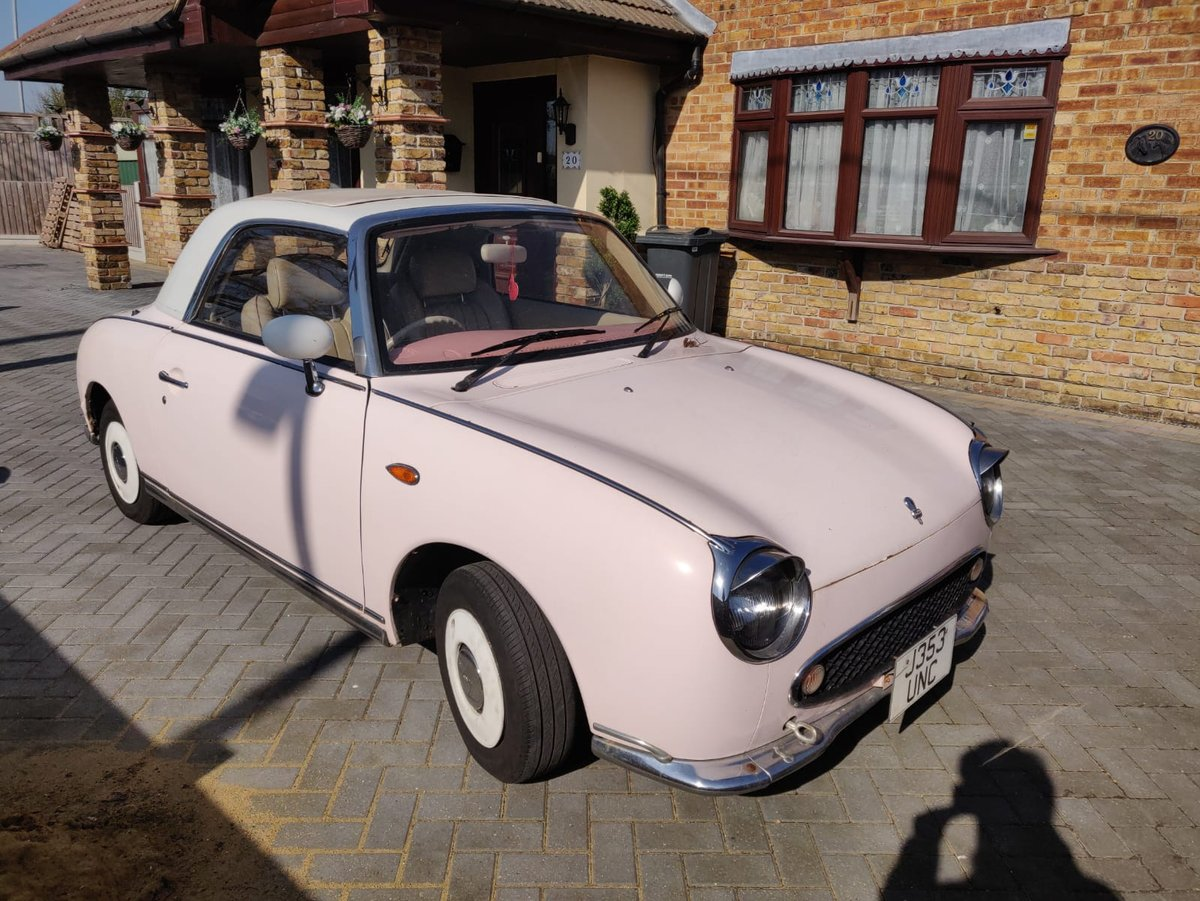 1992 1991 Pink Nissan Figaro For Sale (picture 3 of 5)