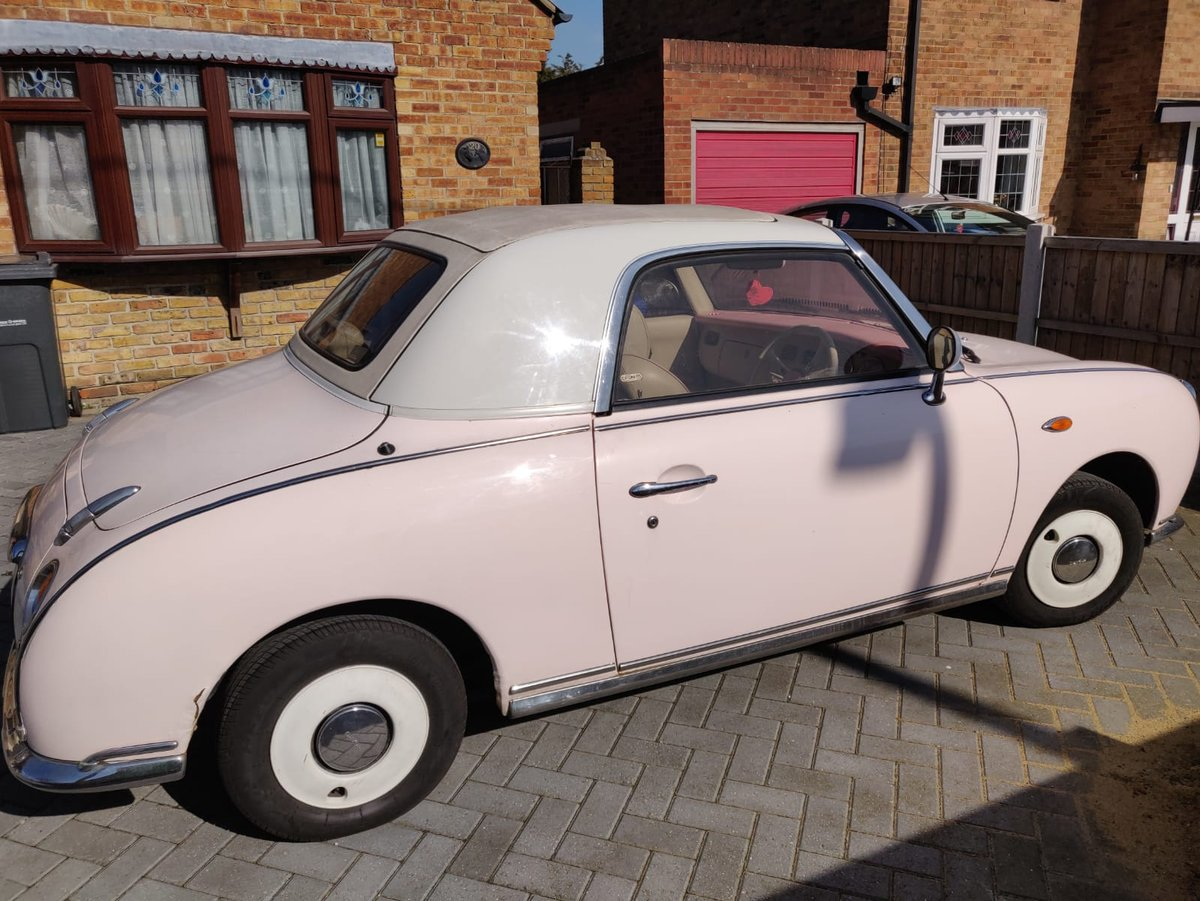 1992 1991 Pink Nissan Figaro For Sale (picture 4 of 5)