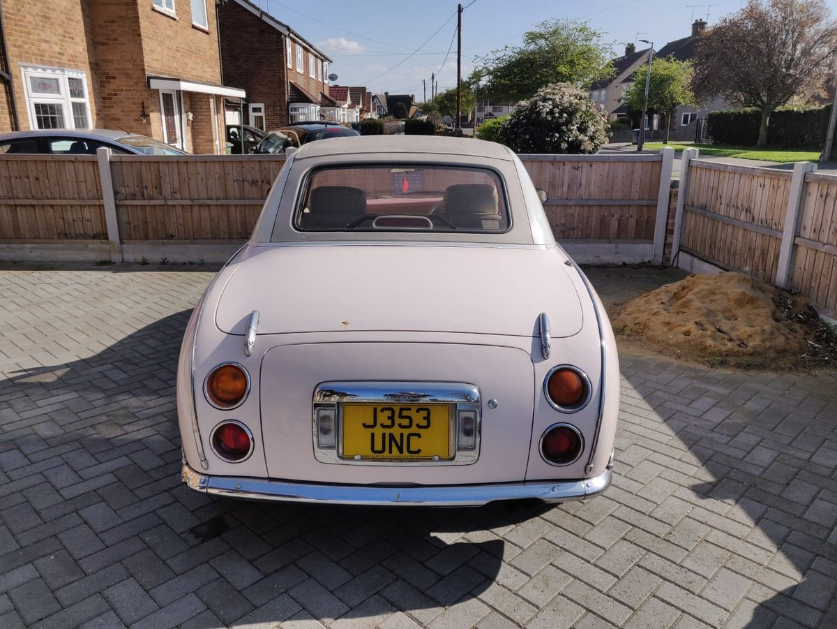 1992 1991 Pink Nissan Figaro For Sale (picture 5 of 5)