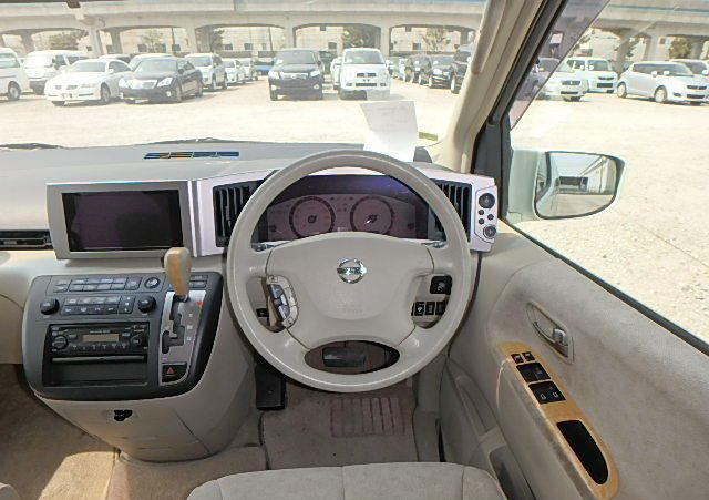 NISSAN ELGRAND 2004 3.5 VG 4X4 TWIN POWER DOORS 8 SEATER * T For Sale (picture 6 of 6)