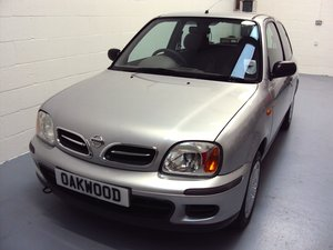 2002 A TRULY EXCEPTIONAL K11 MICRA - 1 OWNER - 13K MILES - FMDSH  For Sale