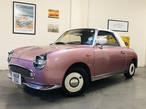 1991 NISSAN FIGARO - PINK, SUPER VALUE FOR MONEY For Sale
