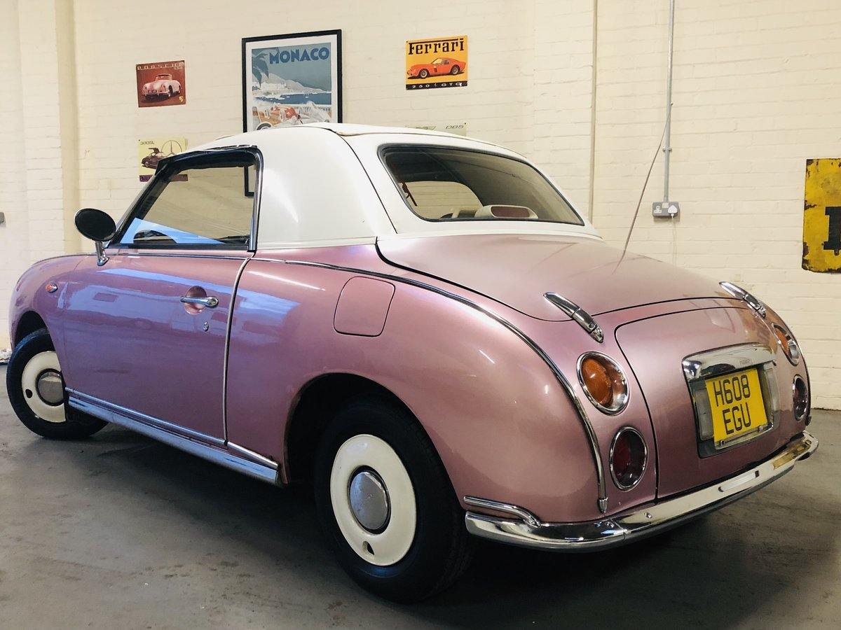 1991 NISSAN FIGARO - PINK, SUPER VALUE FOR MONEY SOLD (picture 2 of 6)