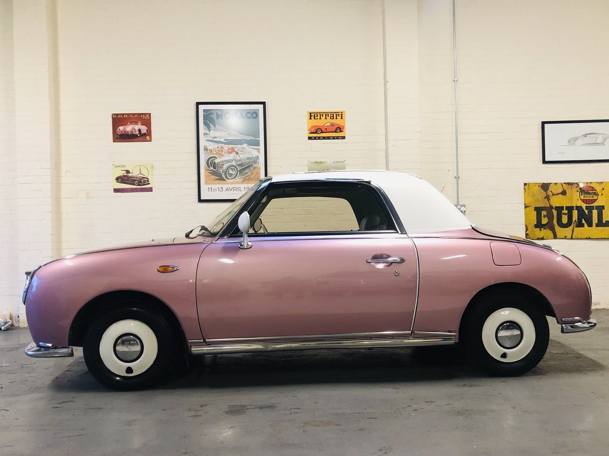 1991 NISSAN FIGARO - PINK, SUPER VALUE FOR MONEY SOLD (picture 3 of 6)