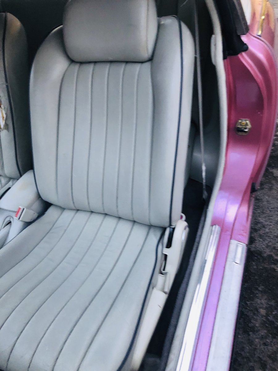 1991 NISSAN FIGARO - PINK, SUPER VALUE FOR MONEY SOLD (picture 6 of 6)