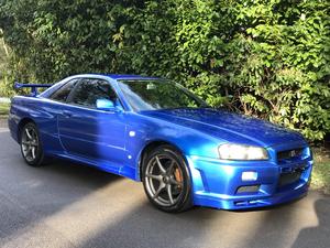1999 **RARE GTR34 BAYSIDE BLUE***