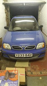 2001 Nissan Micra 5 door for sale spares or repair