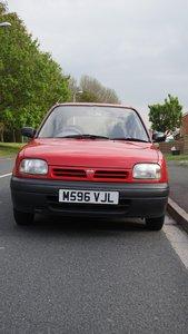 1994 Nissan Micra 19,000 miles.