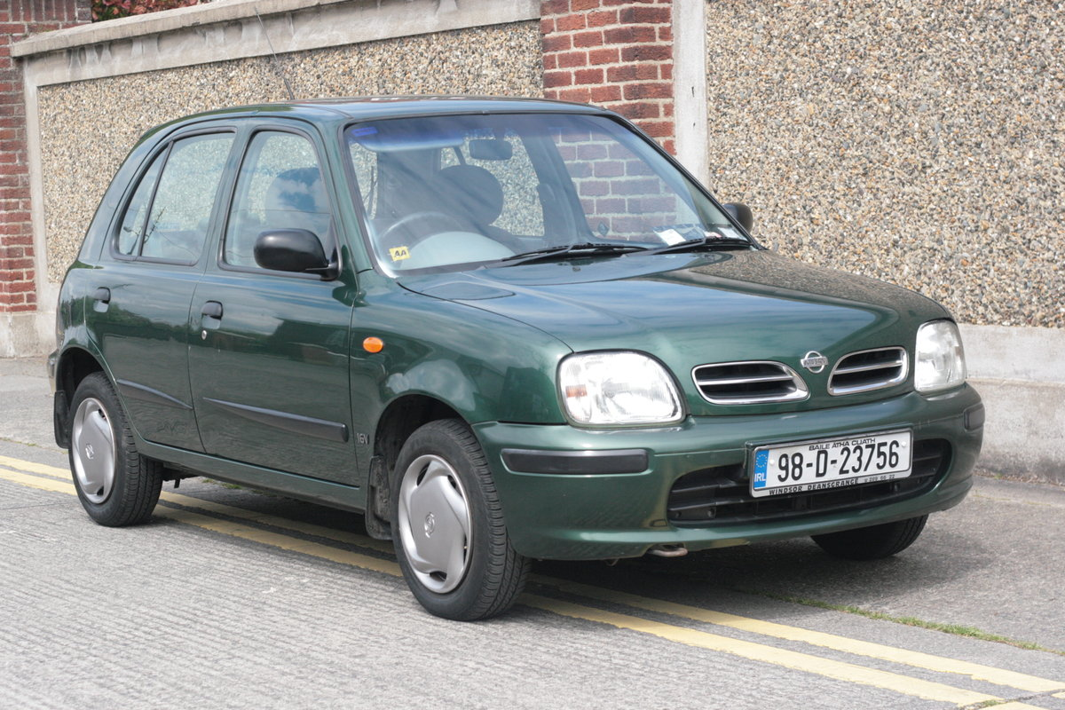 1998 Nissan Micra 1.0l, Only 24k Miles! Tax 08/2019 For Sale (picture 2 of 6)