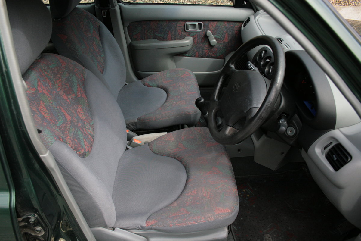 1998 Nissan Micra 1.0l, Only 24k Miles! Tax 08/2019 For Sale (picture 5 of 6)