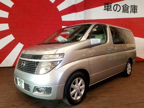 2004 NISSAN ELGRAND 3.5 AUTOMATIC 8 SEATER CAMPER UK REGISTERED SOLD (picture 1 of 6)