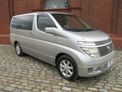 2004 NISSAN ELGRAND 3.5 AUTOMATIC 8 SEATER CAMPER UK REGISTERED SOLD (picture 2 of 6)