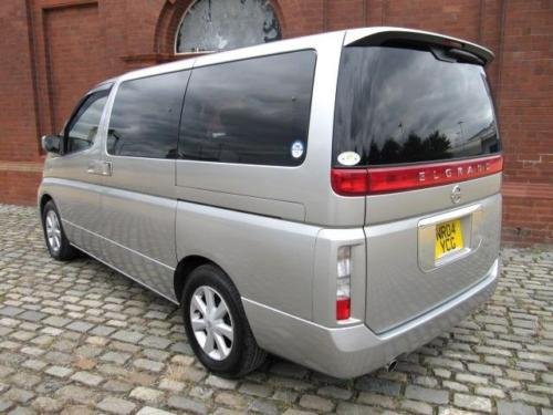 2004 NISSAN ELGRAND 3.5 AUTOMATIC 8 SEATER CAMPER UK REGISTERED SOLD (picture 4 of 6)