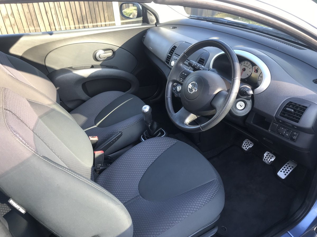 2007 MICRA C+C OUTSTANDING CONDITION  JUST 30000 MILES FROM NEW For Sale (picture 3 of 6)