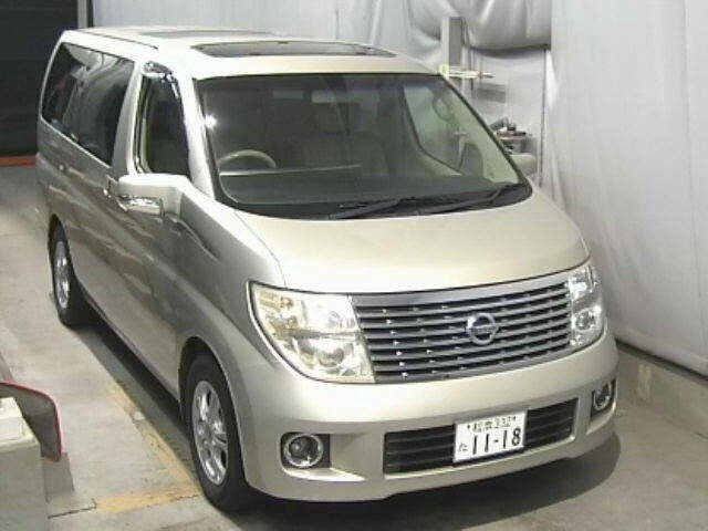2005 NISSAN ELGRAND 3.5 XL 4X4 TOP OF THE RANGE * TWIN SUNROOF For Sale (picture 1 of 3)