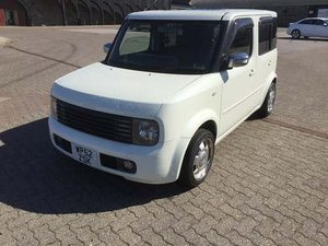 2002 Nissan Cube 2 at Morris Leslie Auction 25th May