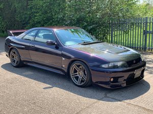 R33 GTR Series 2 1996, Finished In Midnight Purple