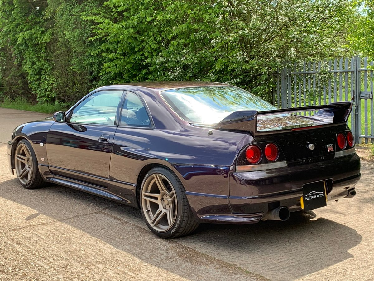 R33 GTR Series 2 1996, Finished In Midnight Purple For Sale (picture 2 of 6)