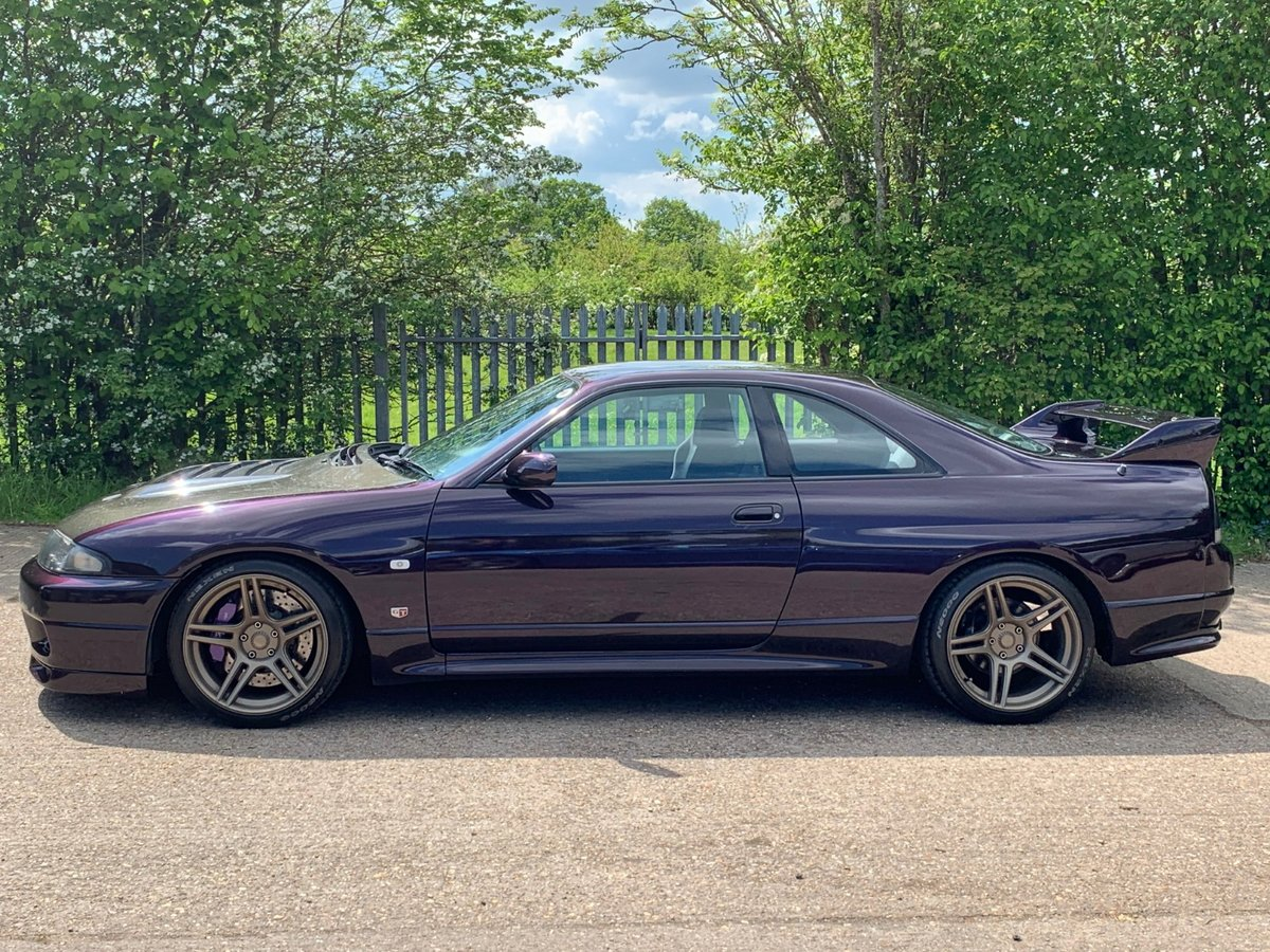 R33 GTR Series 2 1996, Finished In Midnight Purple For Sale (picture 3 of 6)