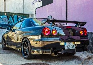1998 Nissan Skyline R34 Gtt  LHD For Sale