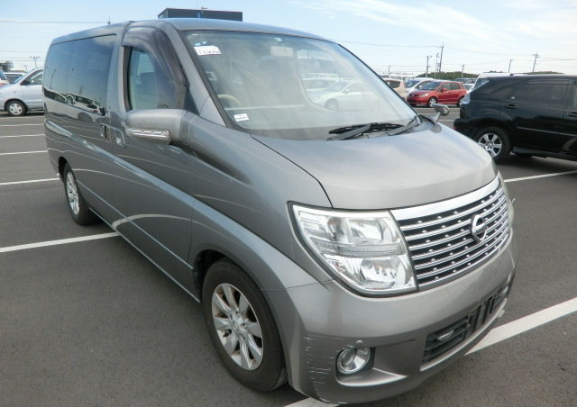 NISSAN ELGRAND 2008 3.5 AUTOMATIC 350 X 8 SEATER * CURTAINS  For Sale (picture 1 of 6)