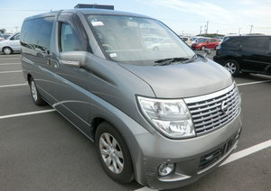 NISSAN ELGRAND 2008 3.5 AUTOMATIC 350 X 8 SEATER * CURTAINS  For Sale