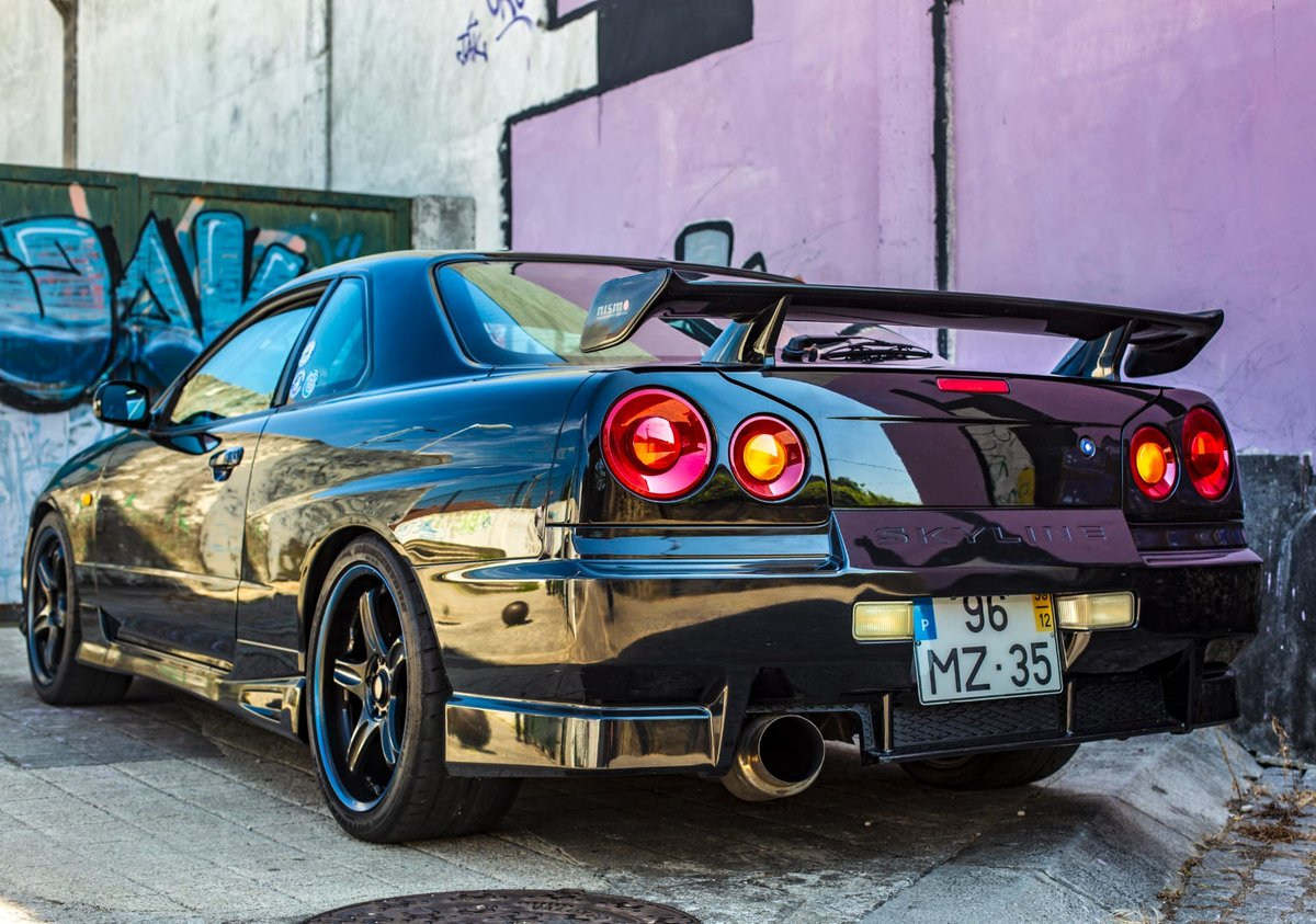 1998 Nissan Skyline R34 Gtt  LHD For Sale (picture 1 of 6)