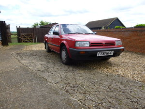 1989 Nissan Bluebird  1.6LX saloon  For Sale