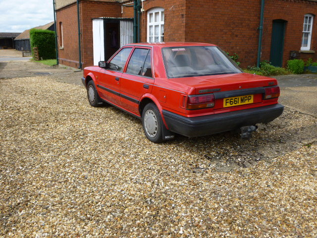 1989 Nissan Bluebird  1.6LX saloon  For Sale (picture 2 of 6)
